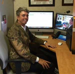 Richard Bedlack, MD, PhD, regularly monitors patient health using the TeleALS in the Home program at the Duke ALS Clinic